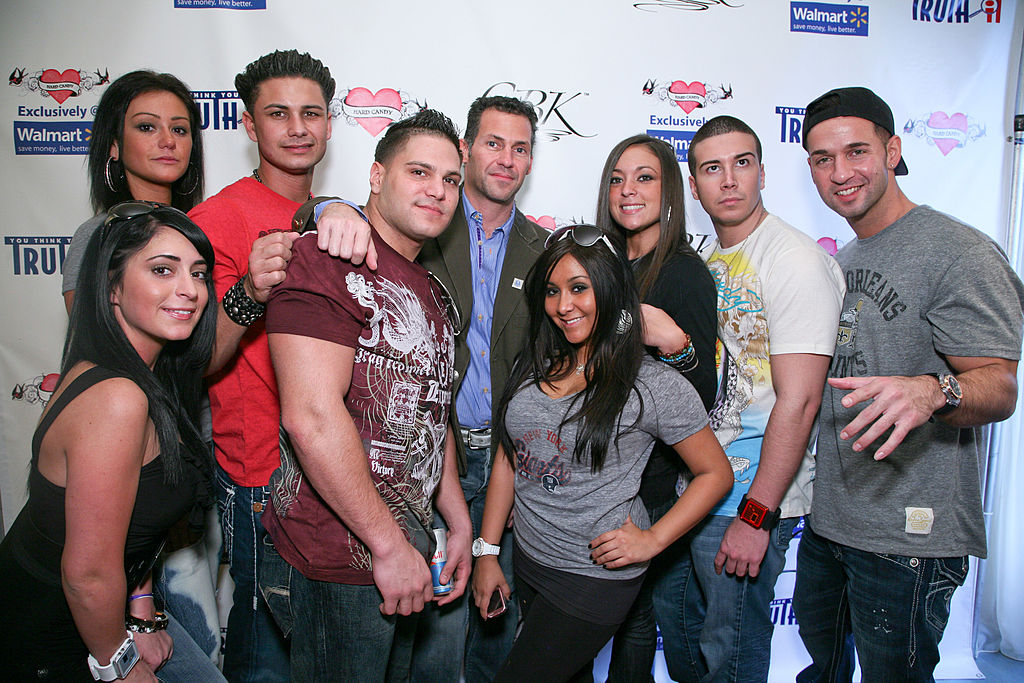 Jersey Shore cast members arrive at GBK's Gift Lounge