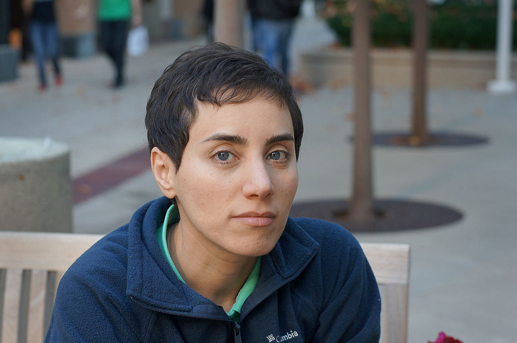 Professor Maryam Mirzakhani is the recipient of the 2014 Fields Medal, the top honor in mathematics. She is the first woman in the prize's 80-year history to earn the distinction. The Fields Medal is awarded every four years on the occasion of the International Congress of Mathematicians to recognize outstanding mathematical achievement for existing work and for the promise of future achievement. (Photo by Courtesy: Maryam Mirzakhani/Corbis via Getty Images)