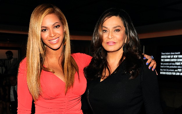 Picture of Beyonce and Tina Knowles