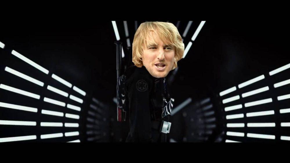 Owen Wilson in Star Wars