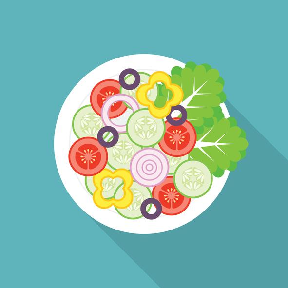 Salad illustrated