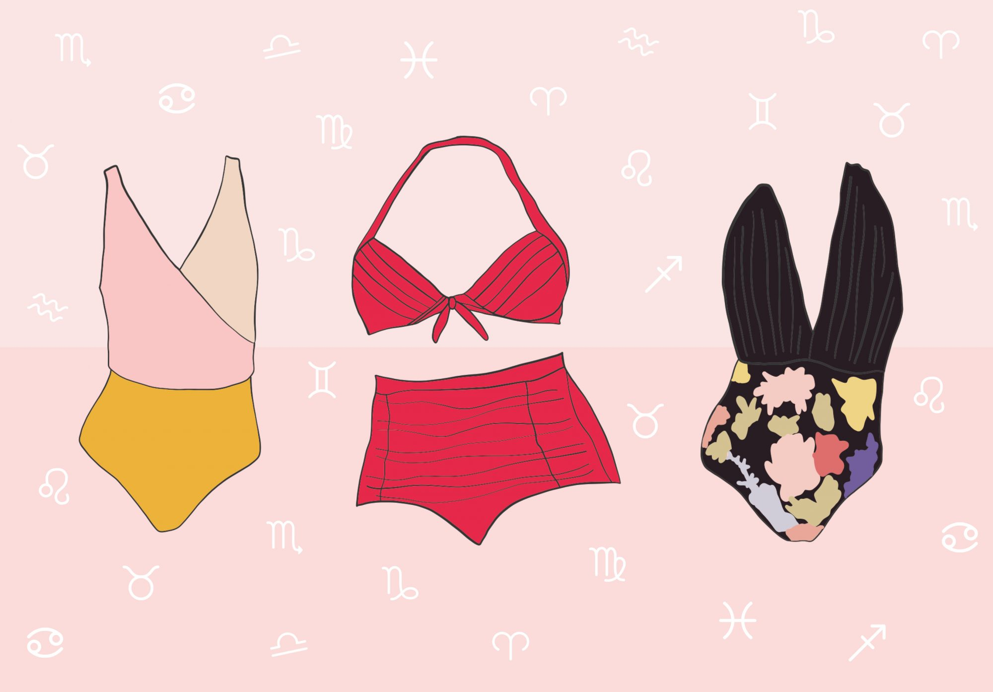 Zodiac swimsuits