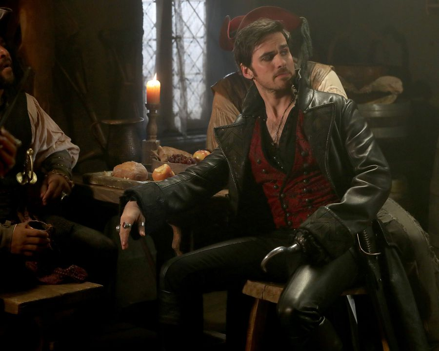 Once Upon a Time Captain Hook Colin O'Donoghue