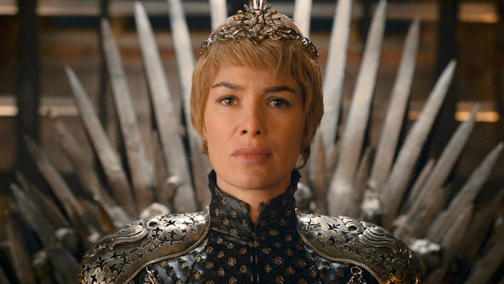 cersei lannister coronation on game of thrones