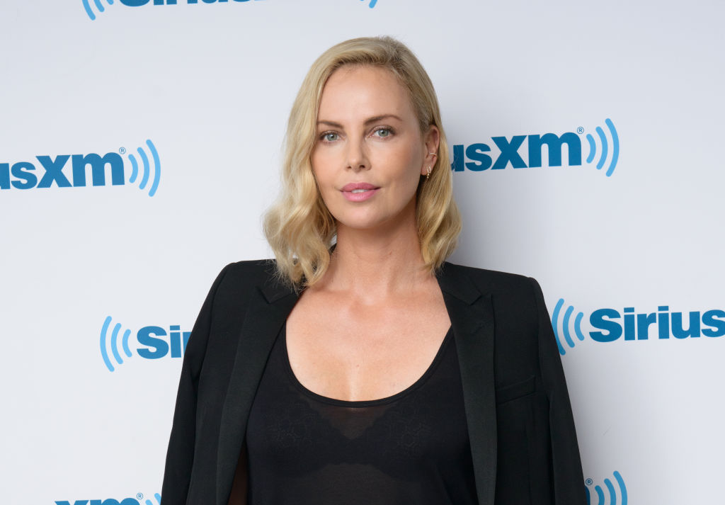 Charlize Theron visits the SiriusXM Studios on July 19, 2017 in New York City.