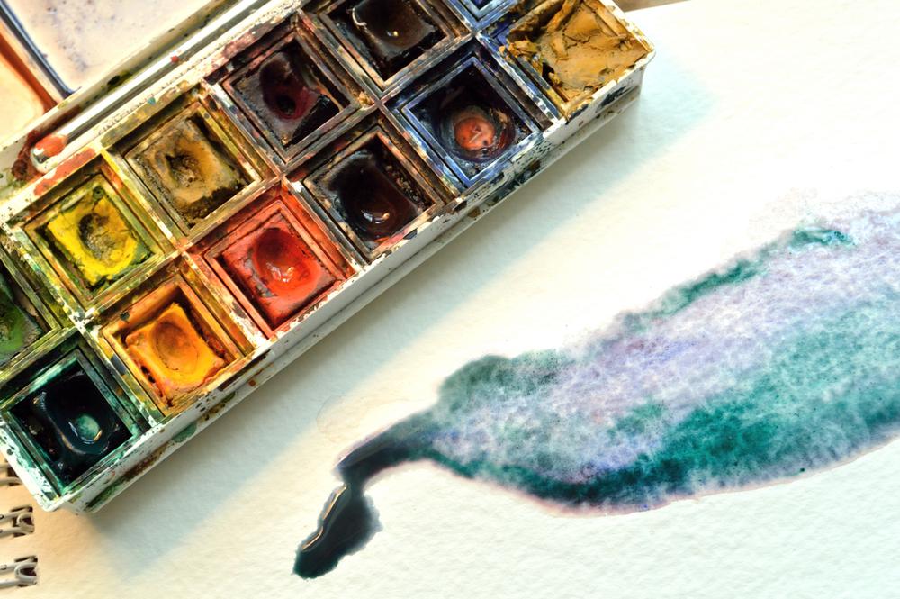Picture of Watercolor Paint Set