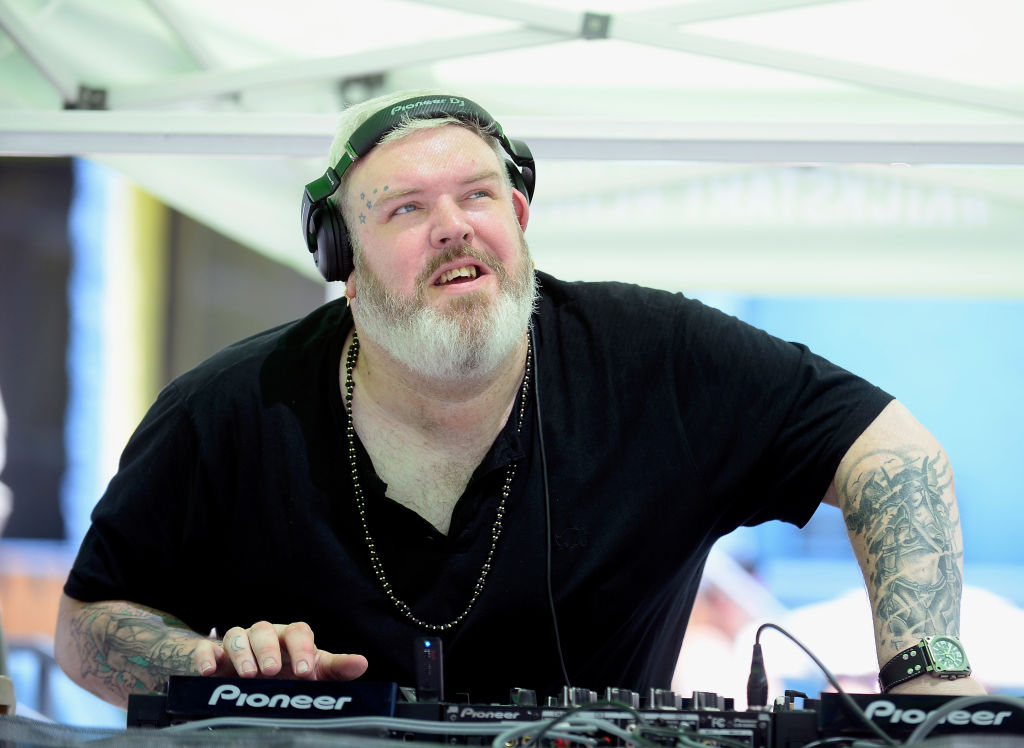 DJ/actor Kristian Nairn performs at The LINQ Hotel