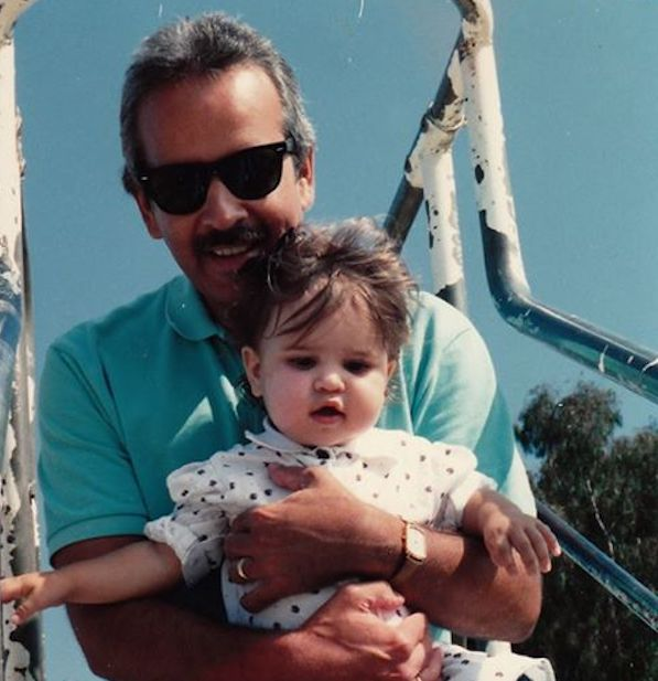Alex Morales and father