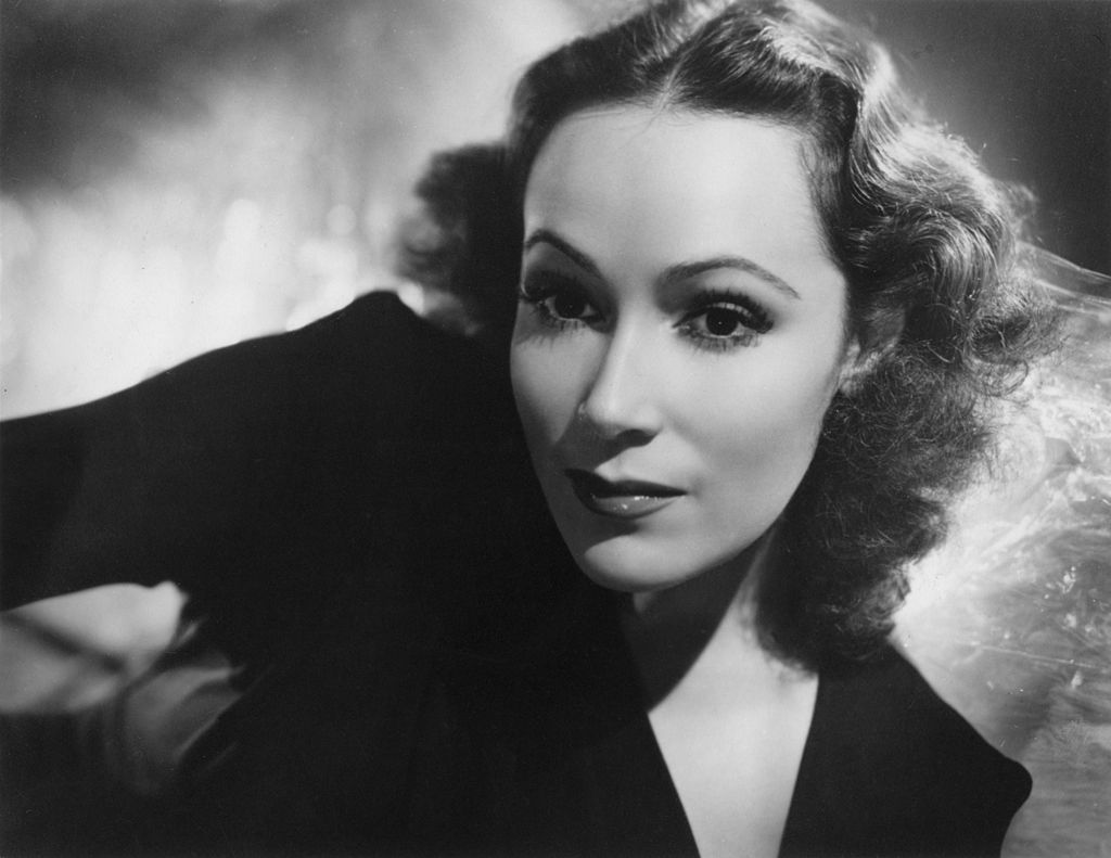 Dolores Del Rio, Mexican actress and film star, late 1930s - early 1940