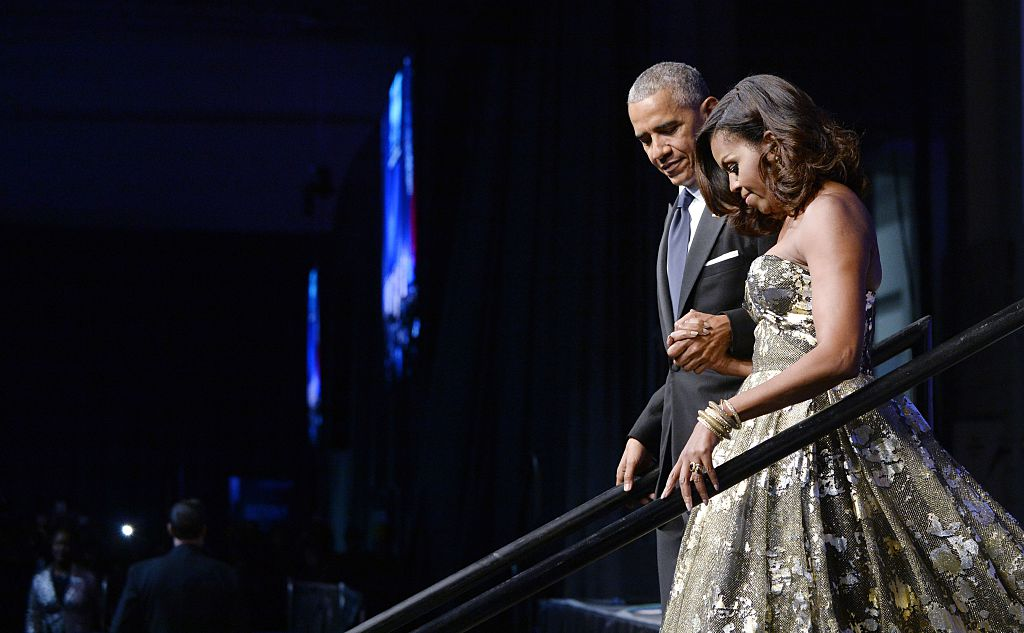 Picture of Barack and Michelle Obama
