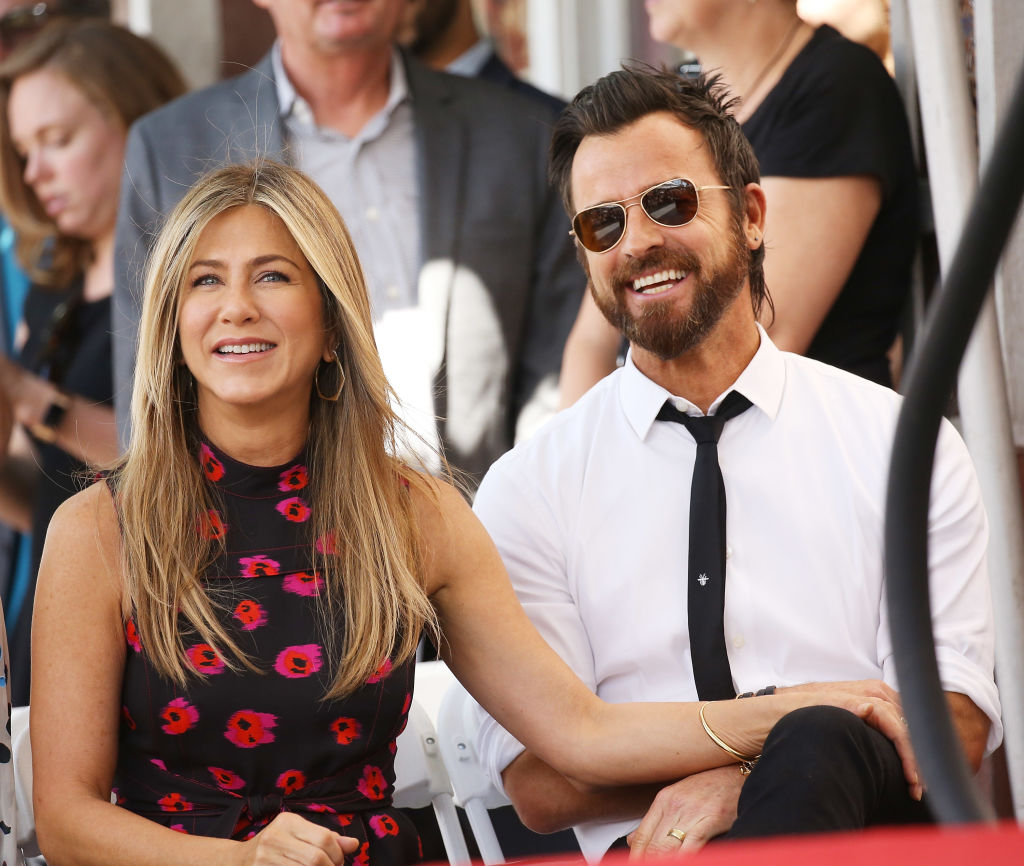 Picture of Jennifer Aniston and Justin Theroux