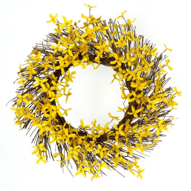 Yellow bright Target wreath.