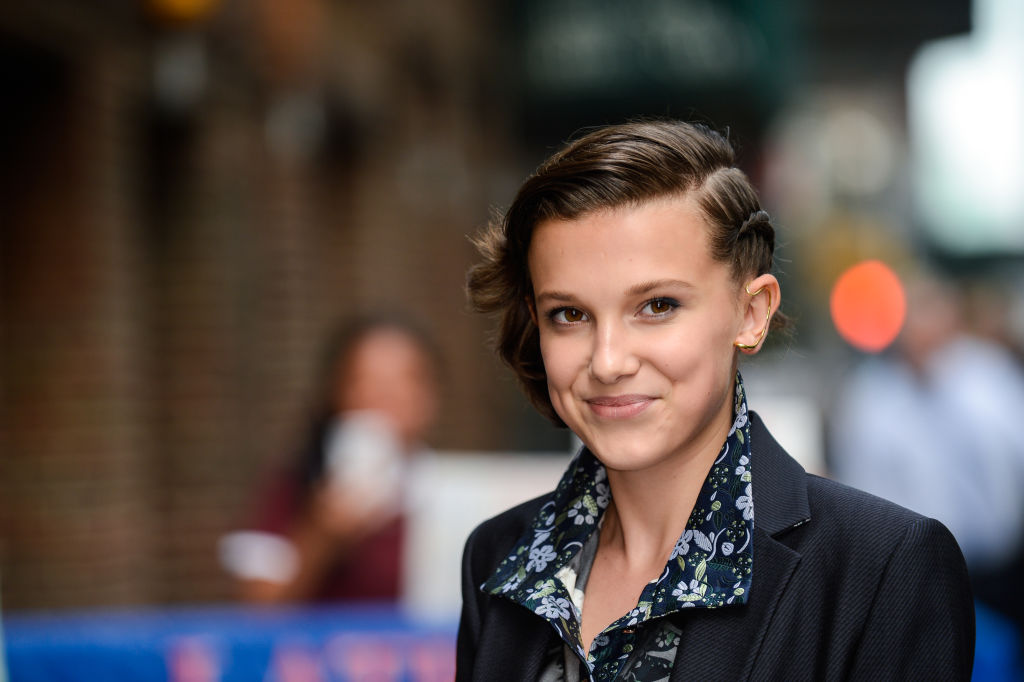 Picture of Millie Bobby Brown Late Show