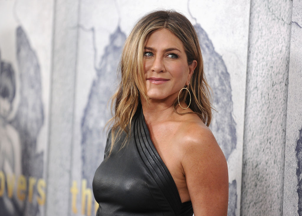 "Jennifer Aniston attends the season 3 premiere of ""The Leftovers"" at Avalon Hollywood on April 4, 2017 in Los Angeles, California."