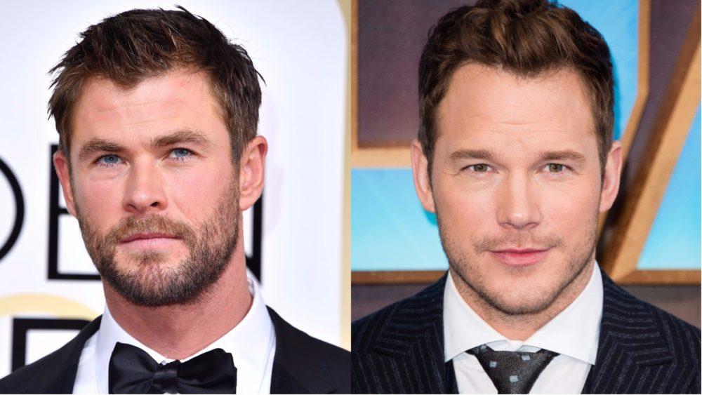 Chris Pratt Chris Hemsworth