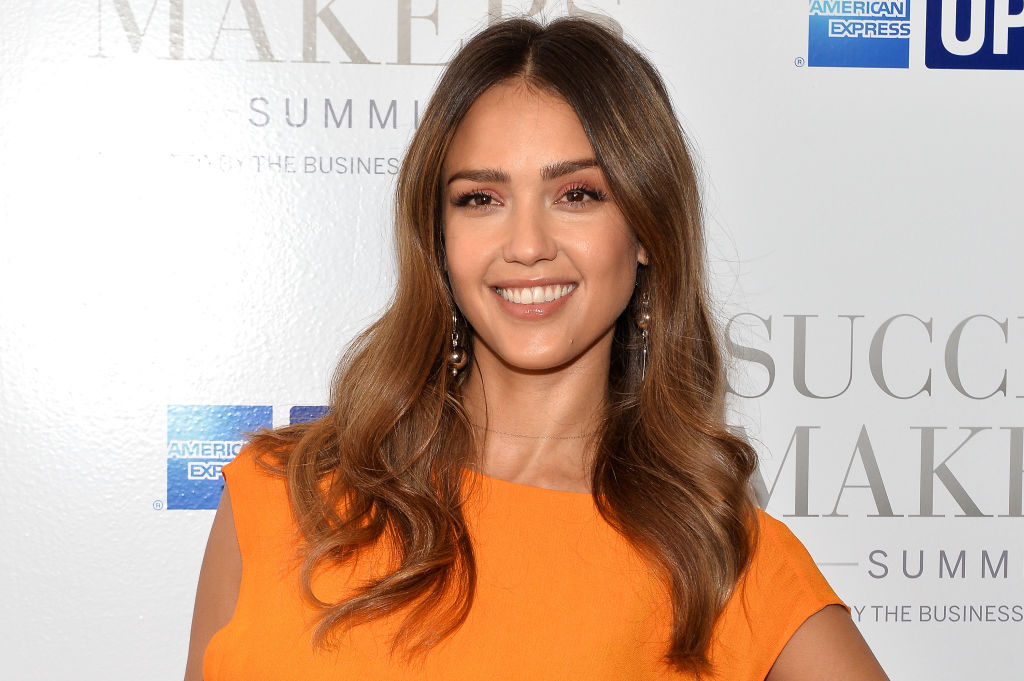 Jessica Alba attends the 2017 Success Makers Summit at Spring Place on April 17, 2017 in New York City.