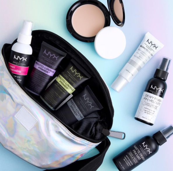 NYX setting spray and other products