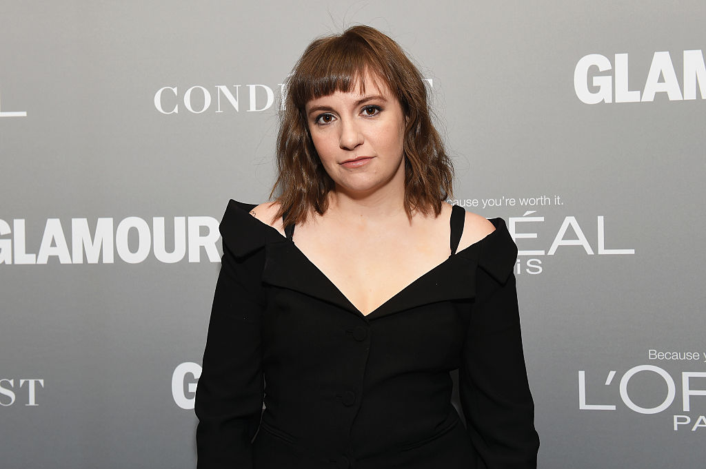 Lena Dunham poses backstage during Glamour Women Of The Year 2016 LIVE Summit at NeueHouse Hollywood on November 14, 2016 in Los Angeles, California.