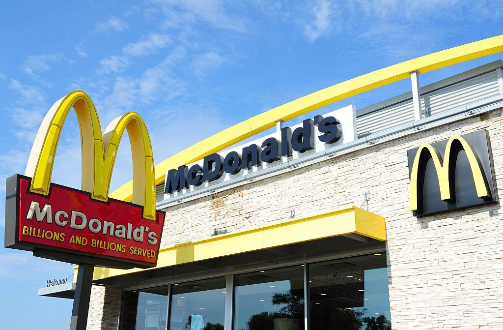 The McDonald's restaurant is seen September 10, 2016 in Gettysburg, Pennsylvania. / AFP / Karen BLEIER (Photo credit should read KAREN BLEIER/AFP/Getty Images)