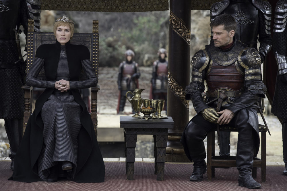 Game of Thrones Jon Cersei