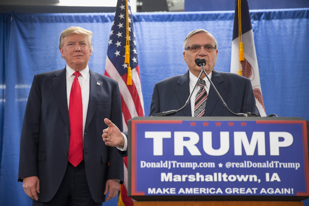 Tump pardoned Joe Arpaio and the Phoenix New Times are speaking out
