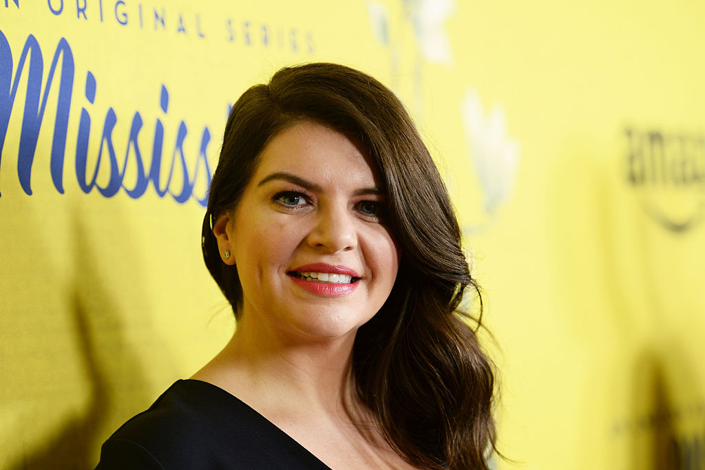 Picture of Casey Wilson Red Carpet