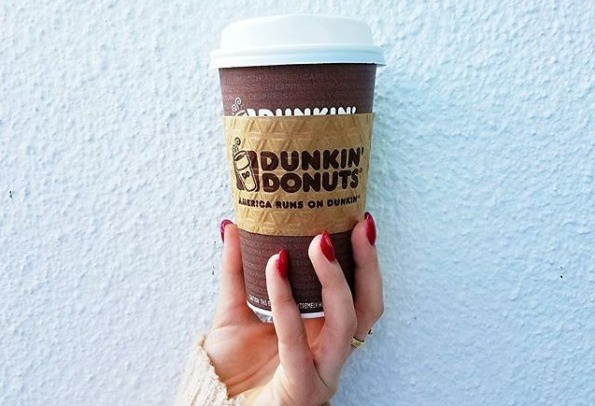 Picture of Dunkin' Donuts Coffee Cup