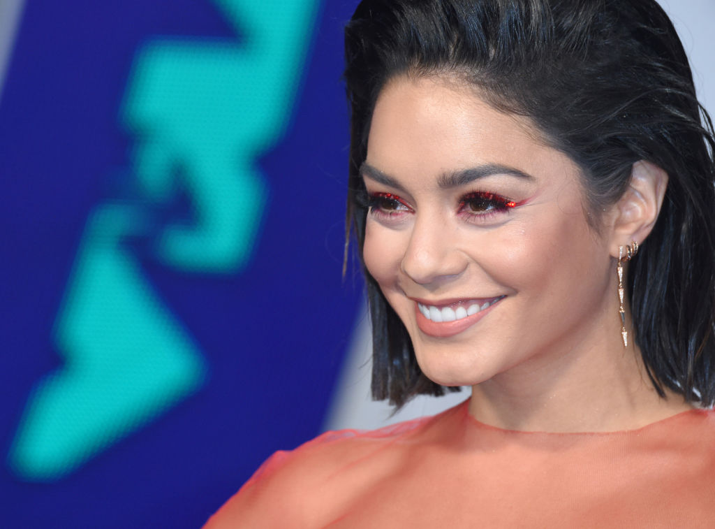 Vanessa Hudgens attends the 2017 MTV Video Music Awards at The Forum on August 27, 2017 in Inglewood, California. (Photo by Anthony Harvey/Getty Images)