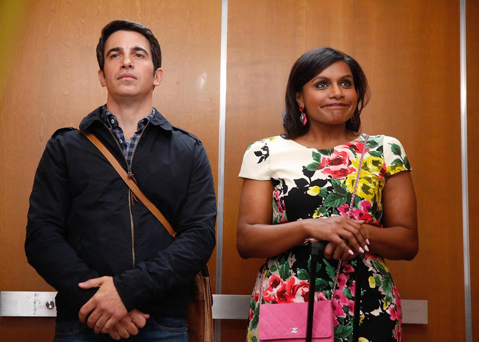 Danny and Mindy in elevator from Mindy Project
