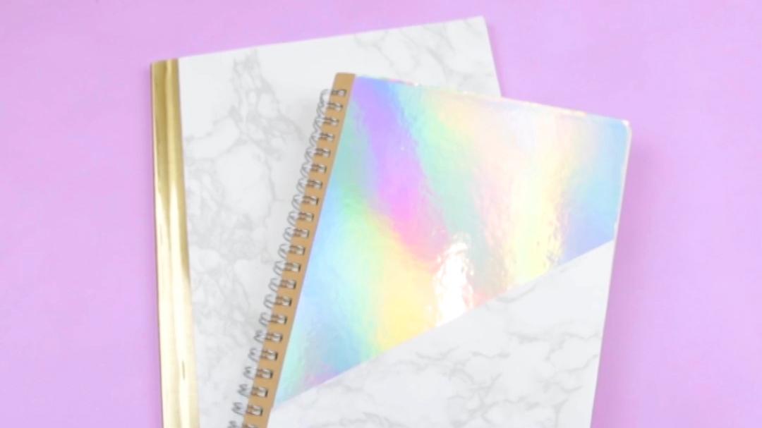 DIY Upcycled Notebooks