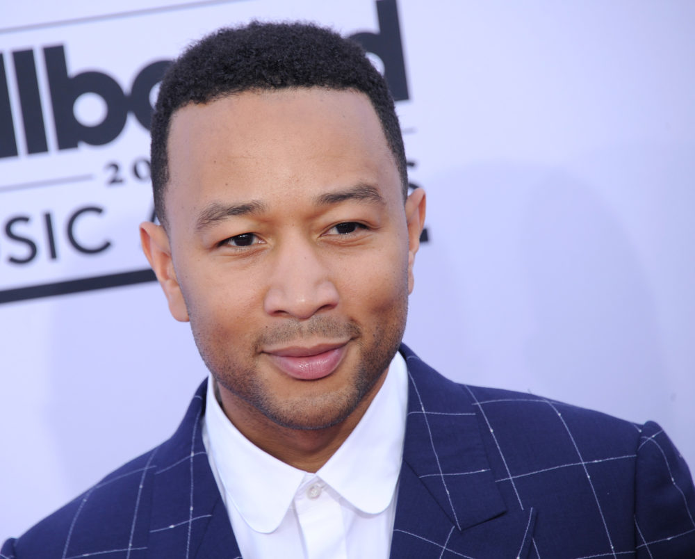 John Legend arrives at the 2017 Billboard Music Awards at T-Mobile Arena on May 21, 2017 in Las Vegas, Nevada. (Photo by Gregg DeGuire/WireImage)