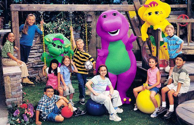 Barney Selena and Demi