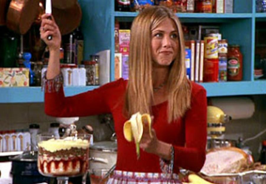 Rachel makes a bad dessert at Thanksgiving