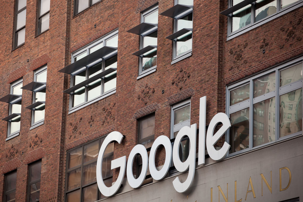 Google Inc. Offices As Company Partners With Wal-Mart On Voice-Based Shopping