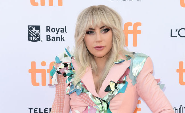 """Lady Gaga attends The World Premiere of """"Gaga: Five Foot Two"""" during The Toronto International Film Festival at Princess of Wales Theatre on September 8, 2017 in Toronto, Canada."""