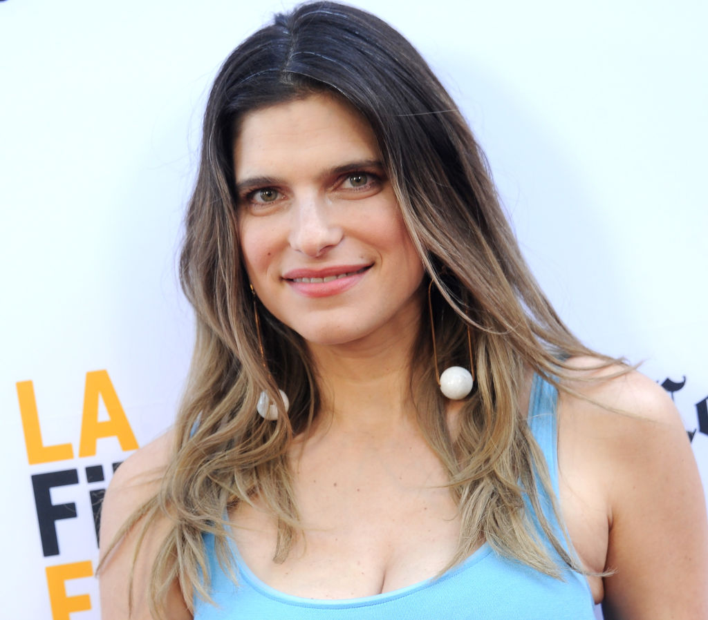 "Lake Bell arrives at the 2017 Los Angeles Film Festival - Gala Screening Of ""Shot Caller"" at Arclight Cinemas Culver City on June 17, 2017 in Culver City, California."