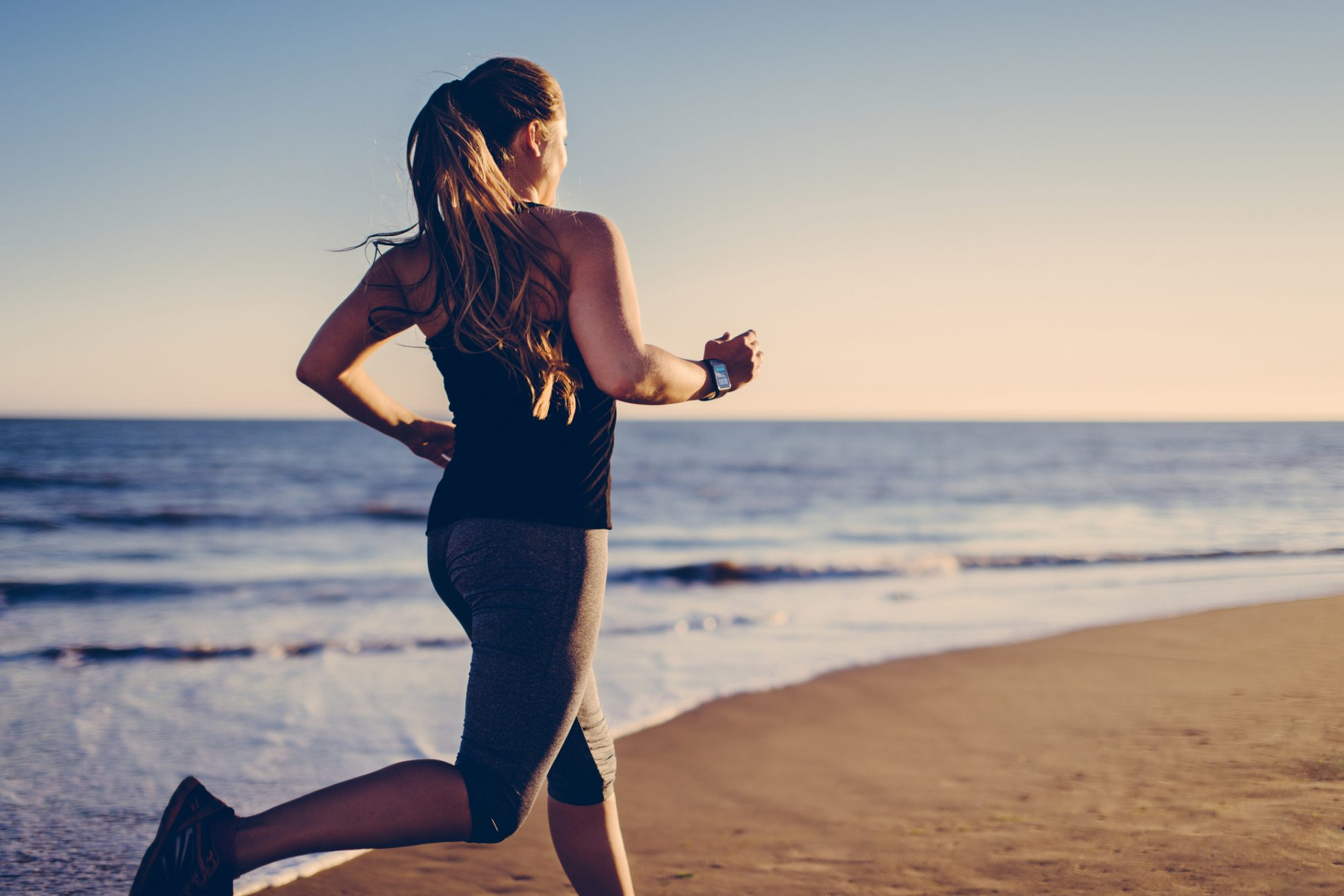Workout quotes - woman running