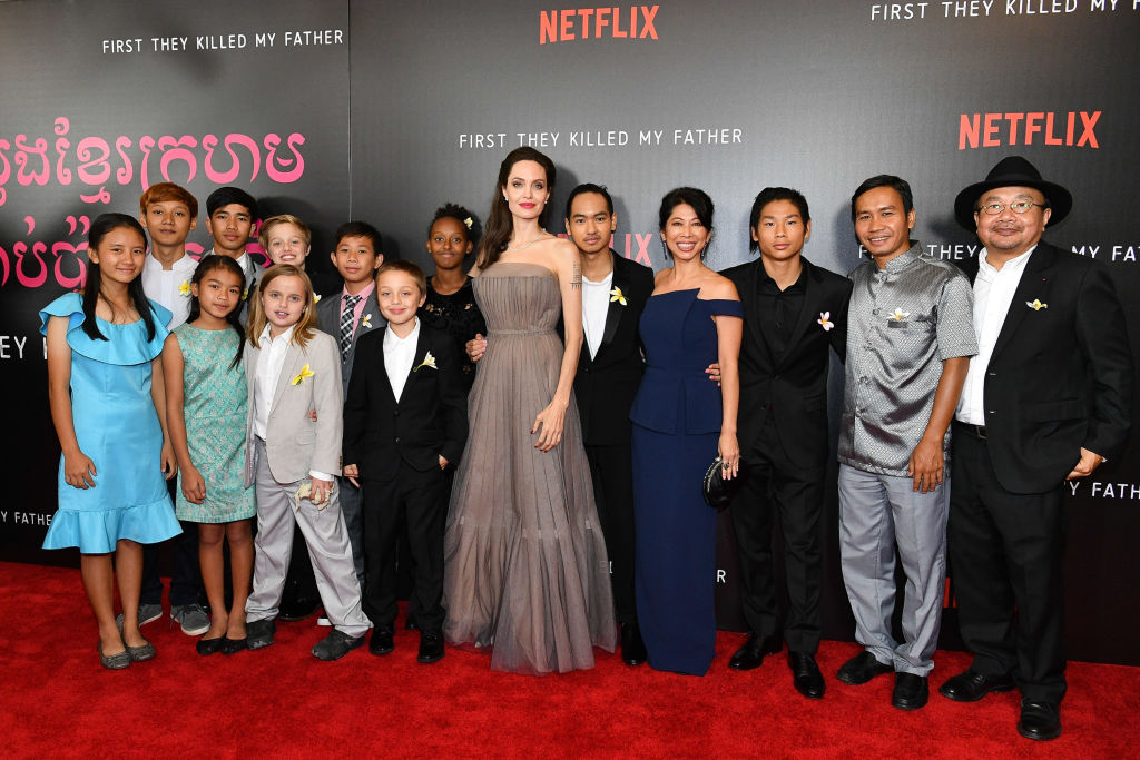 Picture of Angelina Jolie Family
