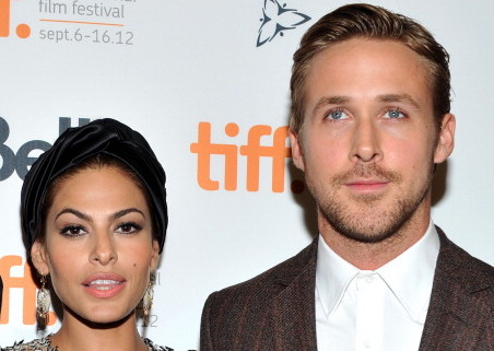 Picture of Eva Mendes Ryan Gosling