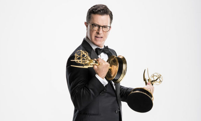 Picture of Stephen Colbert Emmys