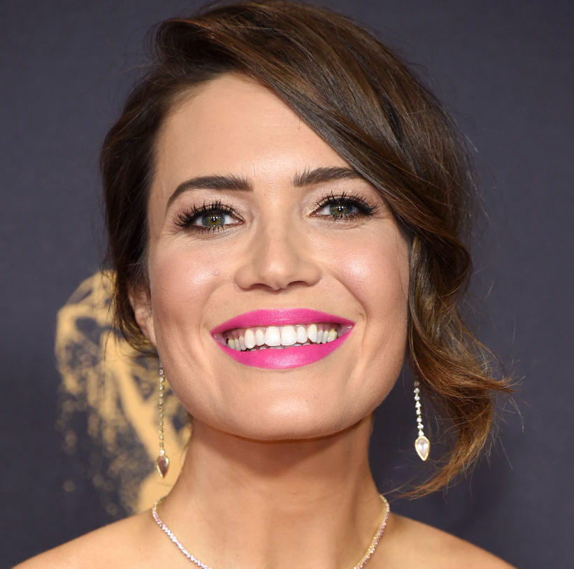Mandy Moore Emmys Red Carpet