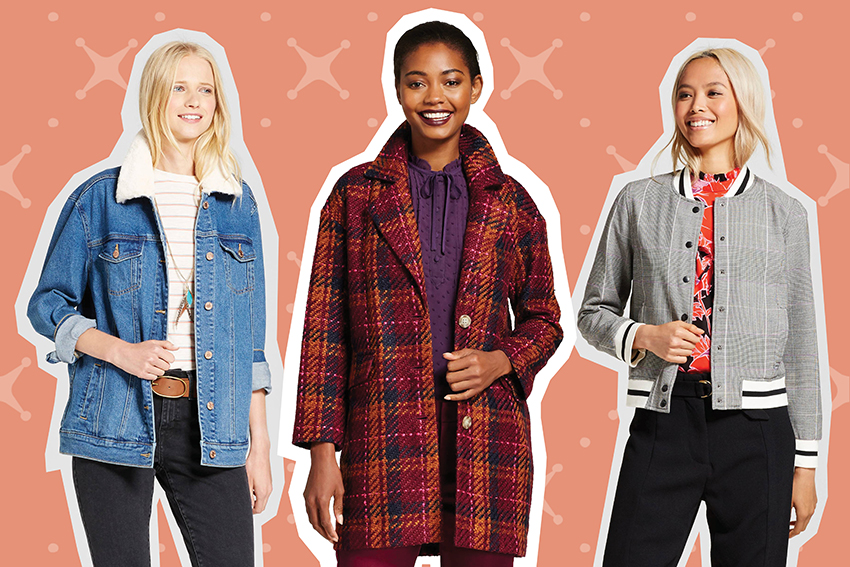 Fall jackets from Target.
