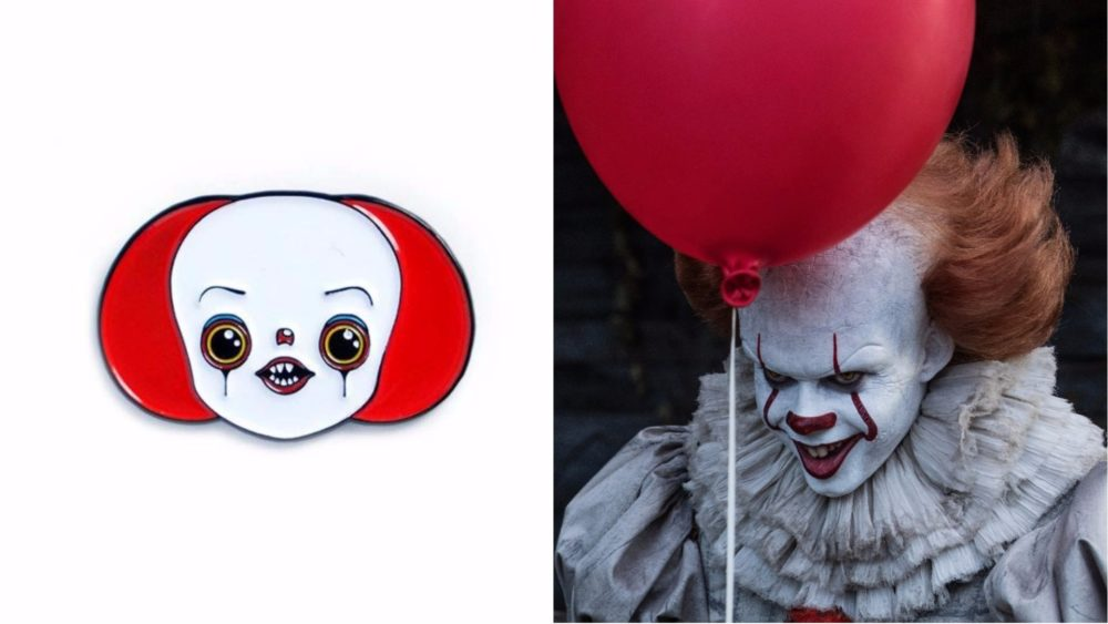 pennywise it pin