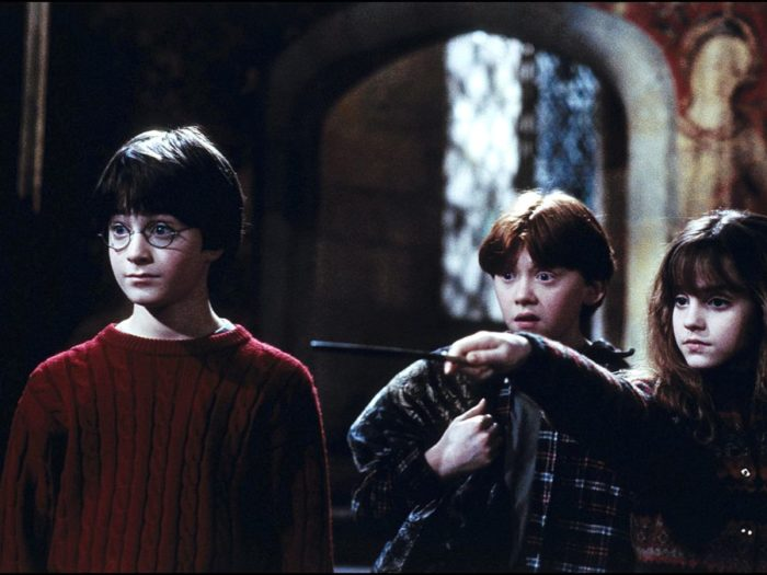 Picture of Harry Ron and Hermione