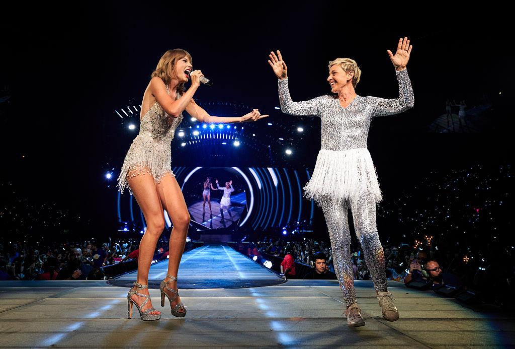Picture of Taylor Swift Ellen DeGeneres