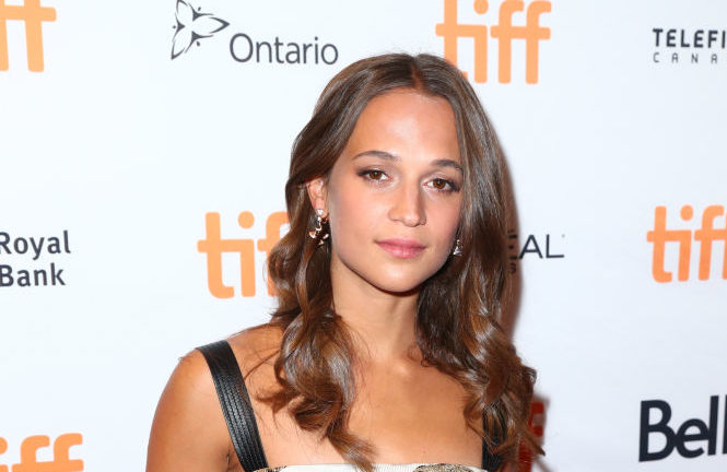 "Alicia Vikander attends the ""Euphoria"" premiere during the 2017 Toronto International Film Festival at Winter Garden Theatre on September 11, 2017 in Toronto, Canada."