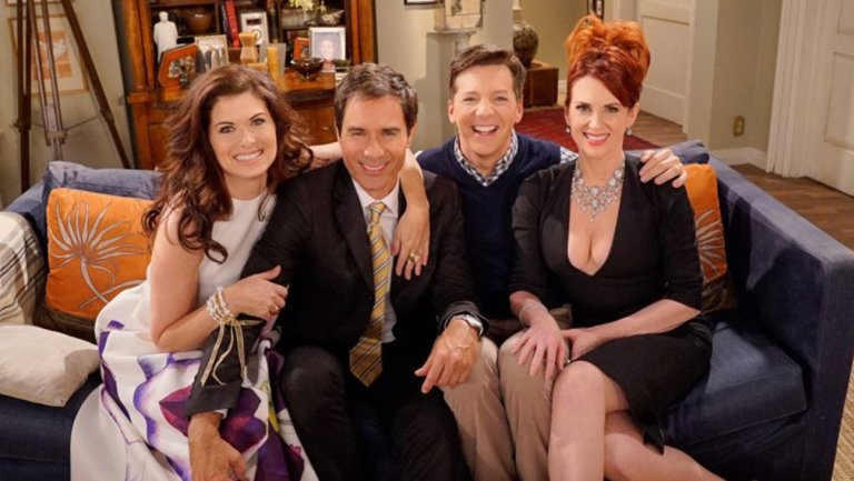 Picture of Will and Grace Cast