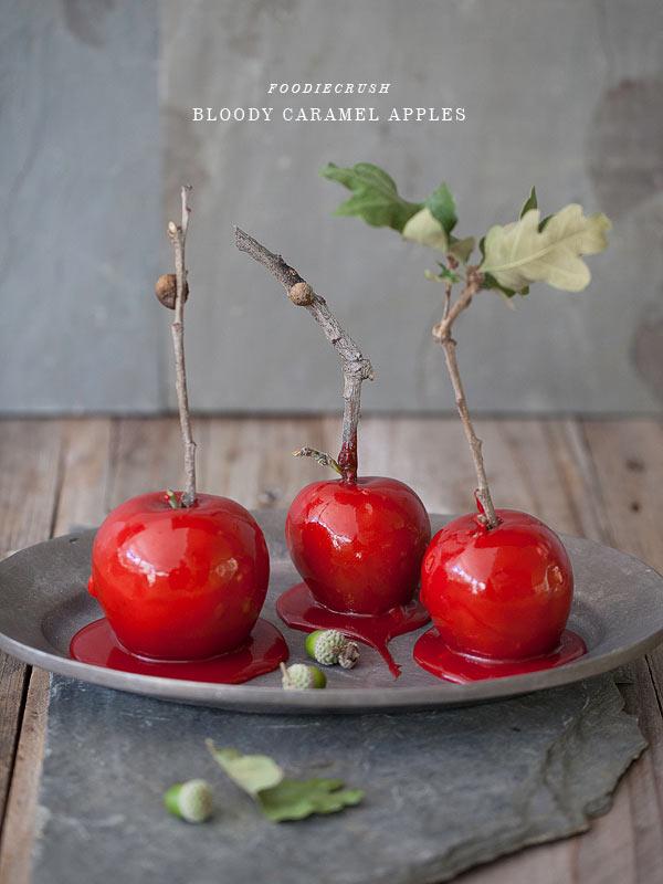 Image of FoodieCrush's caramel apples