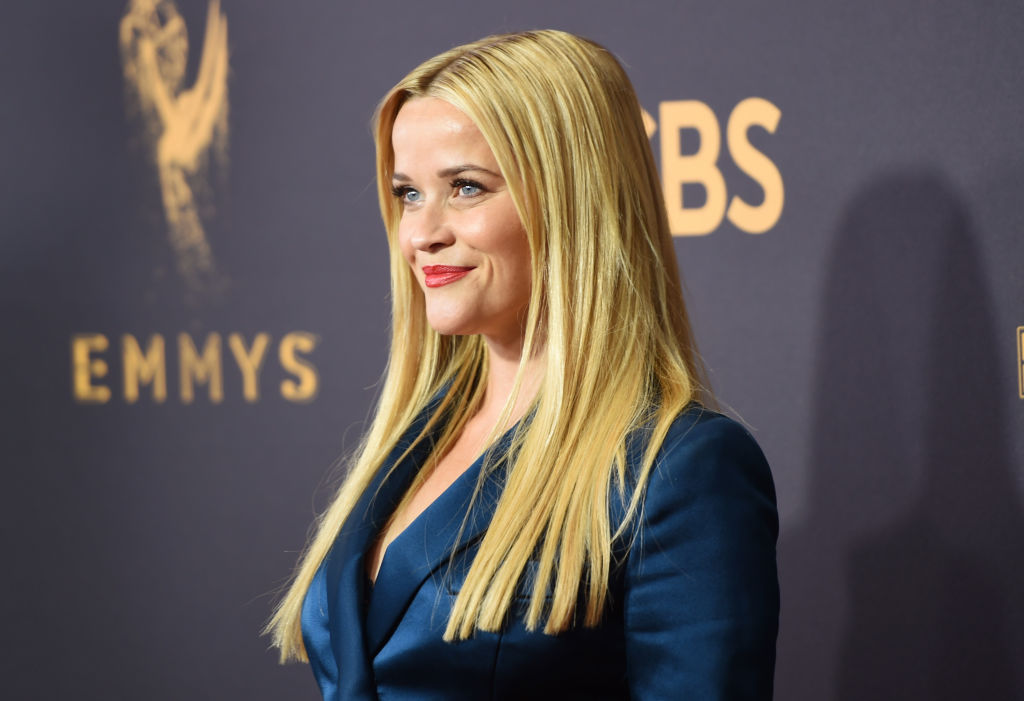LOS ANGELES, CA - SEPTEMBER 17: Actor Reese Witherspoon attends the 69th Annual Primetime Emmy Awards at Microsoft Theater on September 17, 2017 in Los Angeles, California. (Photo by J. Merritt/Getty Images)