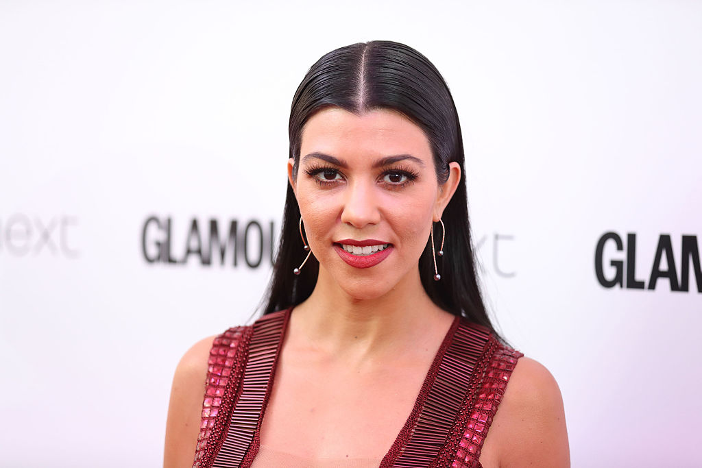 Kourtney Kardashian arrives for the Glamour Women Of The Year Awards on June 7, 2016 in London, United Kingdom.